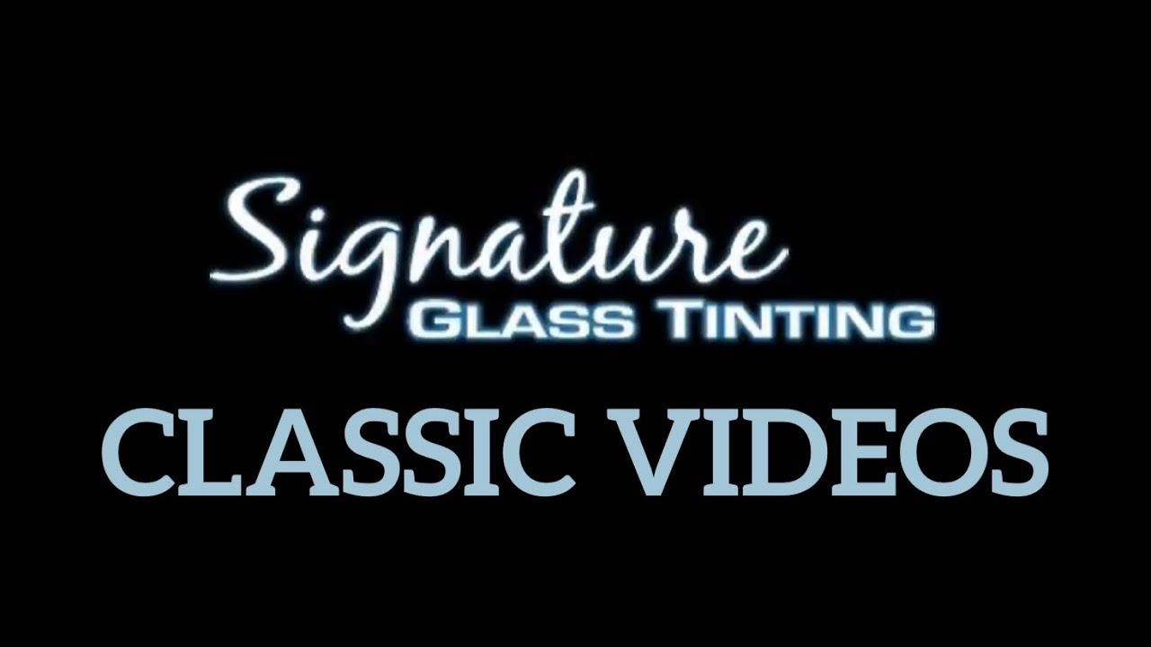 Signature Glass Tinting 2014 Bmw M6 4 Door Youtube