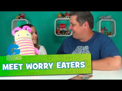 Kids Worries and Fears Meet Worry Eaters - G Says