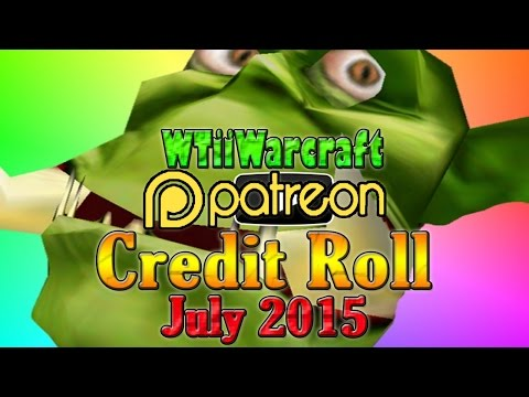 Warcraft 3 - Patron Credit Roll | July 2015