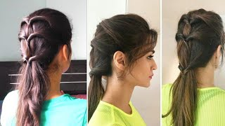 Kirti Sanon inspired hairstyle|Heatless hairstyles at home ||TipsToTop By Shalini