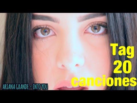 TAG 20 CANCIONES | SHERYL RUBIO