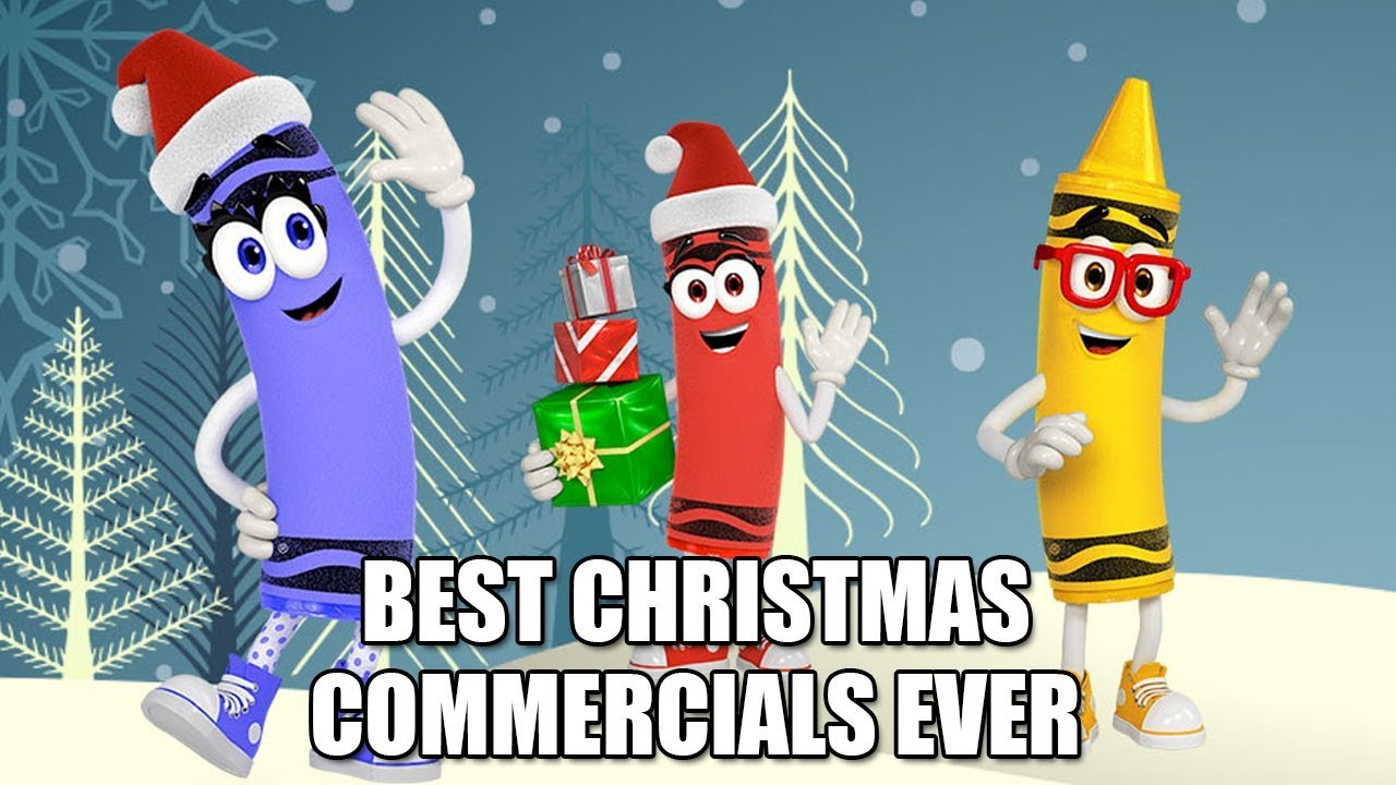 Best Christmas Commercials Best Christmas Commercials Ever Crayola