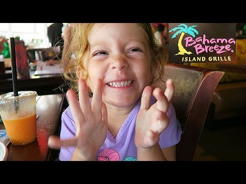 Bahama Breeze Island Grille Restaurant Birthday Lunch!