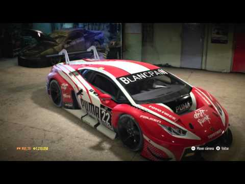 lamborghini huracan gt3 puma need for speed 2015 youtube. Black Bedroom Furniture Sets. Home Design Ideas