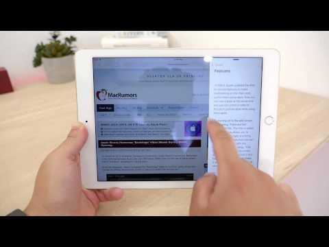 Hands-On With iOS 9's New iPad Multitasking Feature