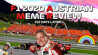 F1 2020 Austrian Grand Prix Meme Review