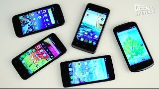 Сравниваем смартфоны до 5 000 руб [Geek to the Future]