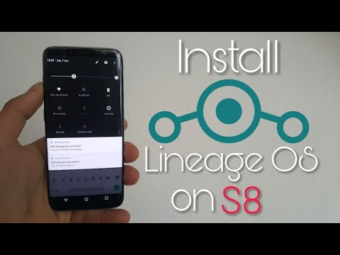 Install Lineage OS 14.1 on Galaxy S8/plus (Android 7.1.2)
