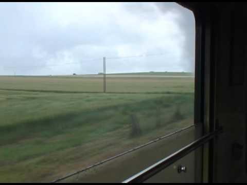 A la fen tre d 39 un train vapeur en 1950 youtube for A la fenetre sarthoise
