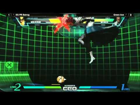 UMvC3 EG PR Balrog vs Green Ace - CEO2013 Day 3