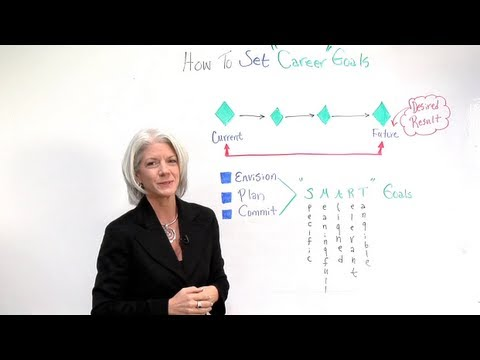 How to Set Your Career Goals