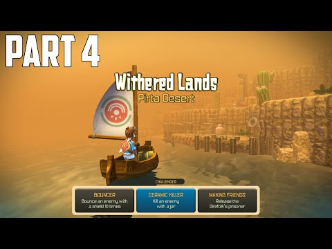 Oceanhorn: Monster of Uncharted Seas - 100% Walkthrough Part 4 [PS4] –  Withered Lands
