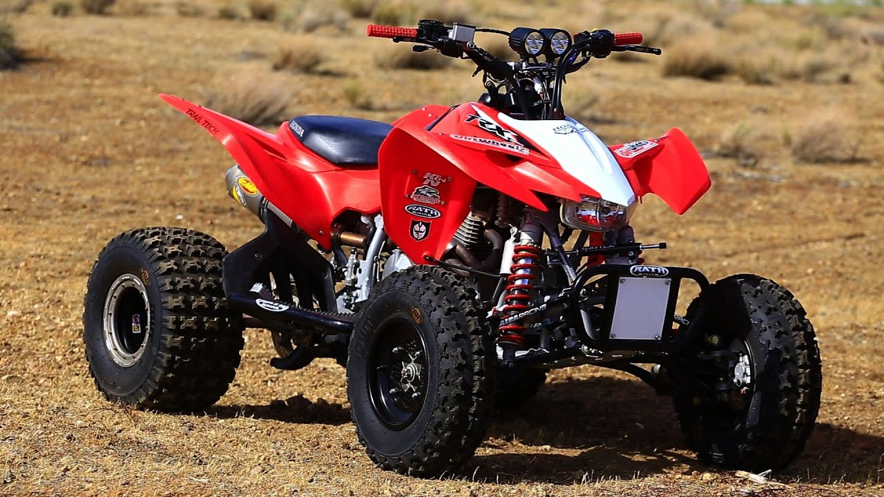 Project Honda TRX400 with Dirth Wheels Magazine - YouTube