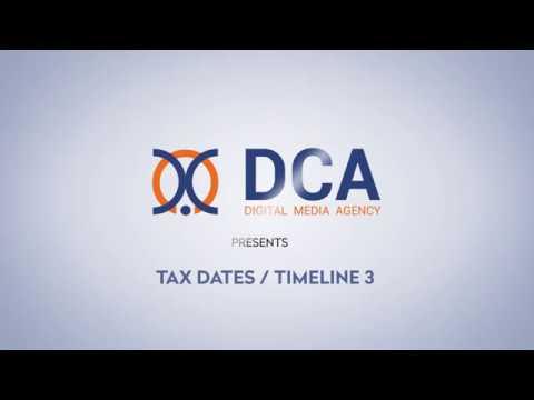 Canada Tax Dates Timeline 3 HD