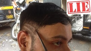 neck shave and styling asmr heavy tingles indian street barber episode 3 1080p