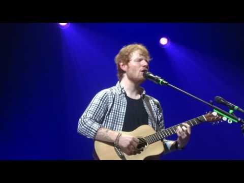 Ed Sheeran - Afire Love @ The Bridgestone Arena, Nashville 13/09/14