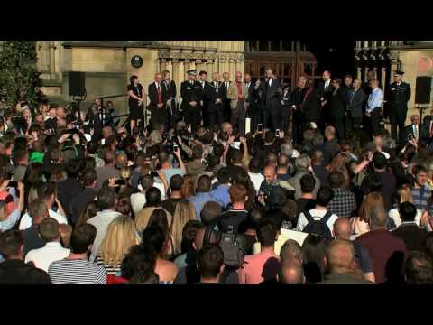 The Place - poet Tony Walsh reads out his tribute to Manchester