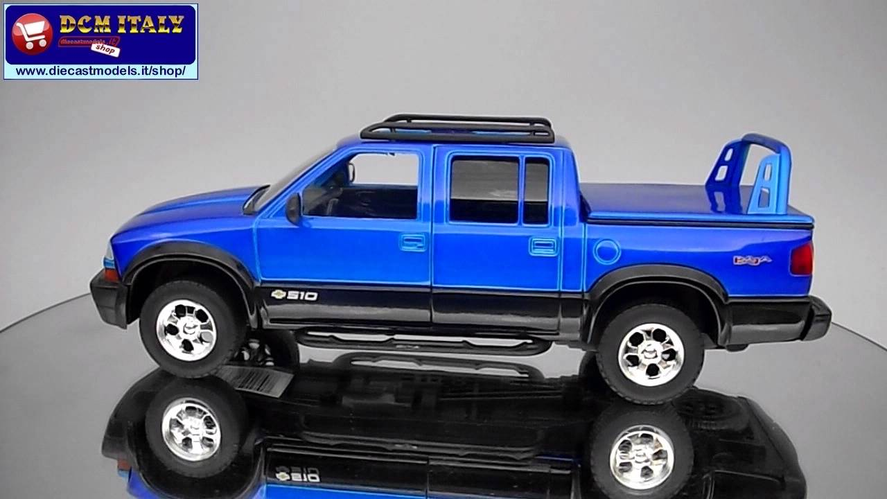 All Chevy 2000 chevrolet s-10 : Jada Toys Chevrolet S10 Baja Pickup 2000 Blue HD - YouTube