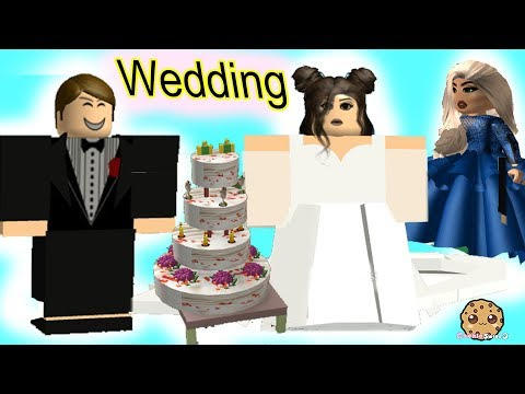 Getting Married ? Wedding Day Roblox Game Cookie Swirl C Let's Play Video