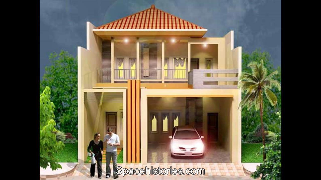 Desain Rumah Minimalis 2 Lantai Type 36  YouTube