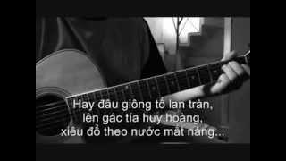 Giọt Lệ Đài Trang (guitar) - Jonathan Nguyen