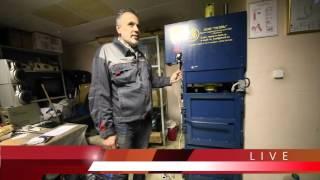 Прямой эфир из цеха по переработке пластика(, 2015-11-05T12:38:01.000Z)