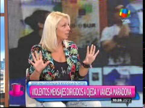La sobrina de Maradona denuncia nuevas agresiones de Rocío Oliva