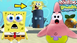 """SPONGEBOB SQUAREPANTS FULL MOVIE GAME"" (Spongebob in Roblox, Roblox Spongebob Kids Games)"