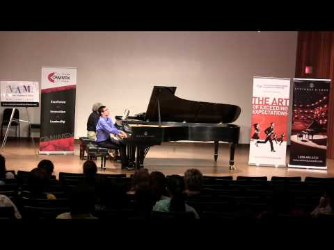 Tchaikovsky Concerto No. 1 1st mov. performed by Davy Lau (CMC 2015)