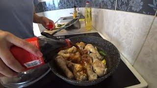 Готовим курицу в Кока-коле по Китайски. Гуляем по магазинам. Наш обычный день