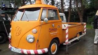Vw Aircooled Classic Vintage Volkswagen type2 t1 toy @ bad camberg 2011