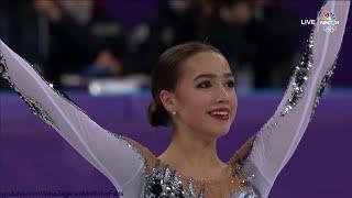 Alina Zagitova Olympic 2018 SP Black Swan 1 82 92 A1