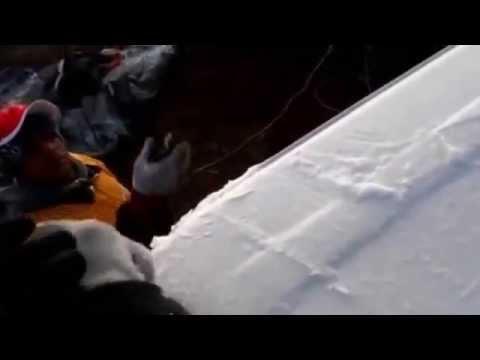 cae nieve en constanza en la república Dominicana 2015