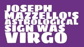 What was Joseph Mazzello's birthday?