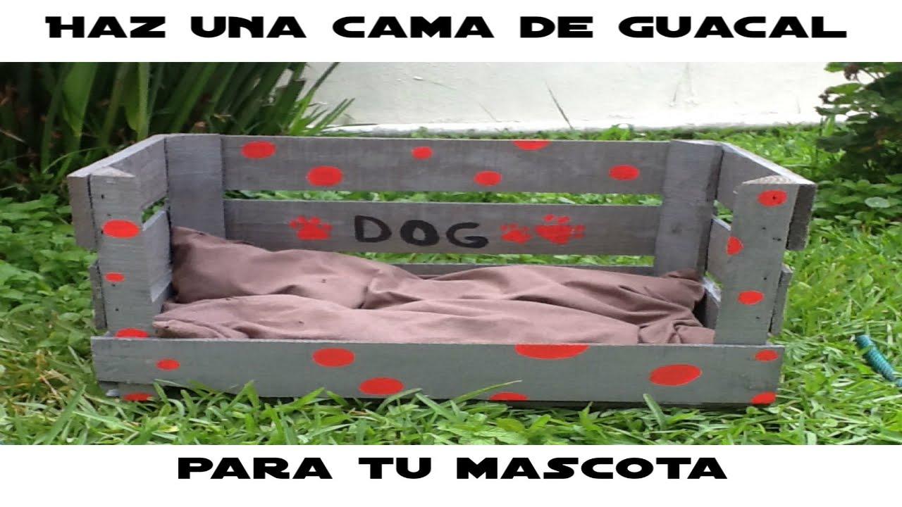 Como hacer una cama para tu perro youtube - Como hacer cabezales de cama ...