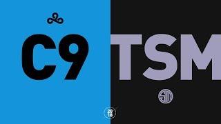 C9 vs. TSM - NA LCS Semifinals Highlights (Summer 2018)