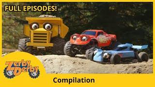 Zerby Derby | ROCKS & ROLLS | Full Episodes | Kids Cars