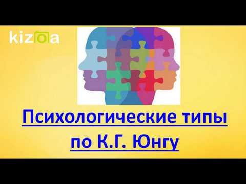 Психологические типы личности. Классификация по К. Г. Юнгу