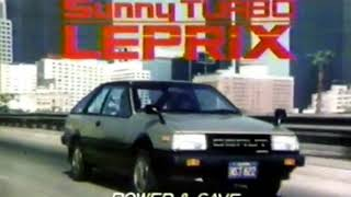 1982 nissan sunny turbo leprix ad