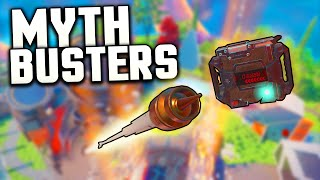Black Ops 3 MYTHBUSTERS - SHOOTING C4's WITH ARROWS + MORE! [Call of Duty]