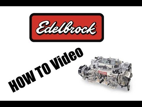 How To Remove A Edelbrock Carburetor | It's That Easy
