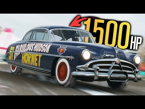 1500HP Doc Hudson Hornet Build in Forza Horizon 4! thumbnail