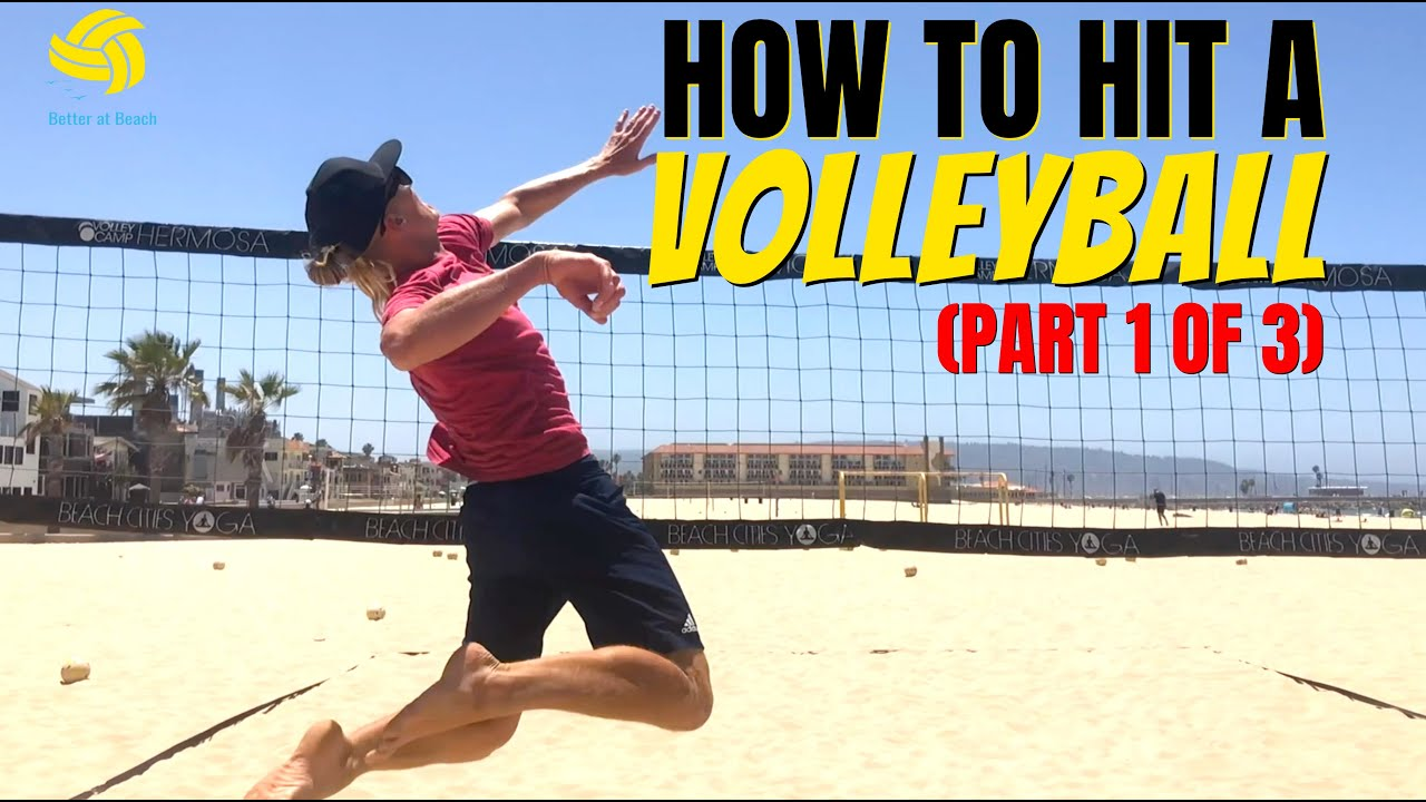 HOW TO HIT A VOLLEYBALL | Volleyball Techniques for Spiking (Part 1of 3)