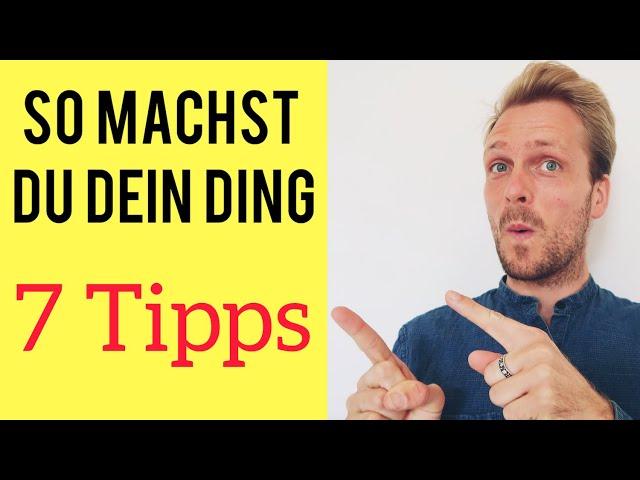 Raus aus dem Hamsterrad - 7 Dinge die mir geholfen haben - Steffen Wolff