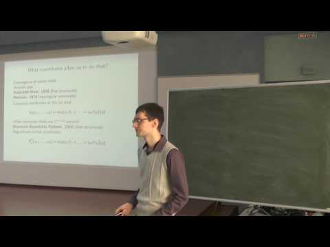 GACT 2016: Sergey Basalaev - Privileged coordinates for nonsmooth CC spaces