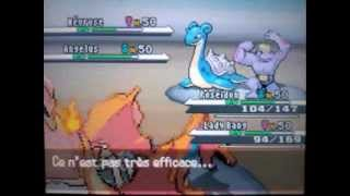 Combat Pokemon 2 Vs 2 Aukeror Vs Néophis Match 2 ( Vue Aukeror )