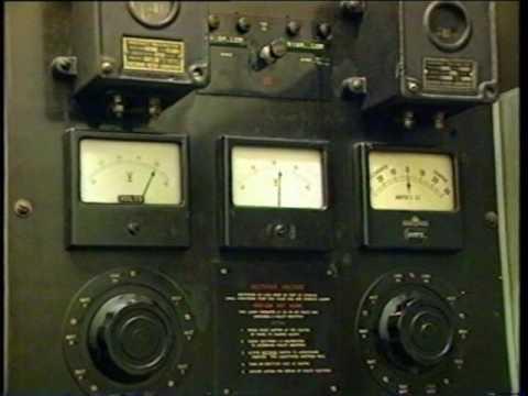 Melbourne  underground wartime studio and control room 1995 (radio switch room)