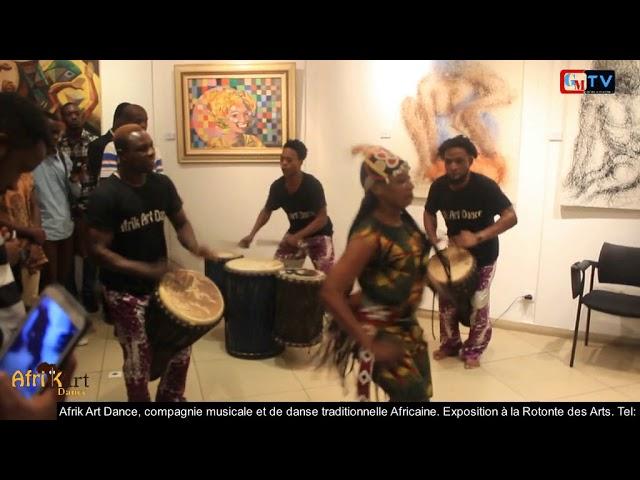 Exposition à l'aveugle avec Afrik Art Dance
