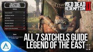 Red Dead Redemption 2: All 7 Satchel Upgrades - Legend of the East Satchel Guide