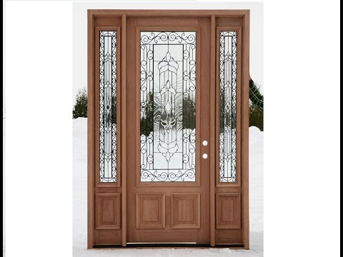 Wooden Front Doors in Melissa